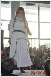 Inoue Orihime - Desfile cosplay by cellinha-chan