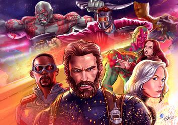 Avengers:Infinity war by ArtAlen333