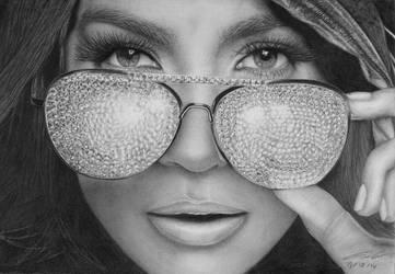 Jennifer Lopes by gilartria