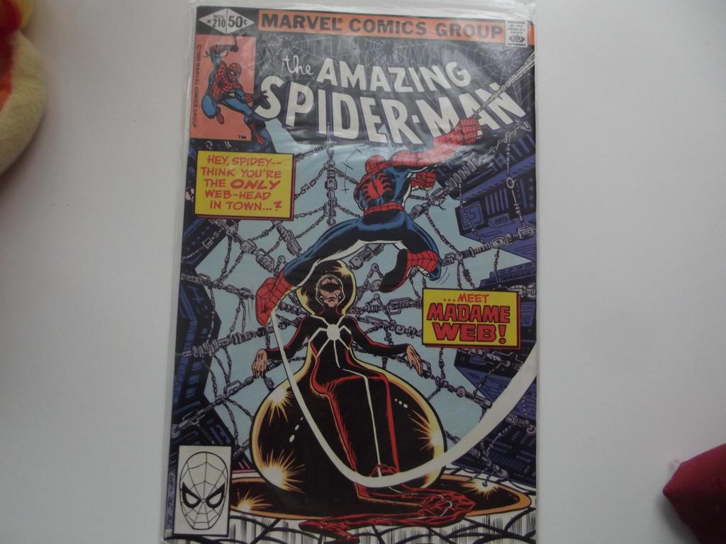 Amazing Spider-Man # 210 by superuk