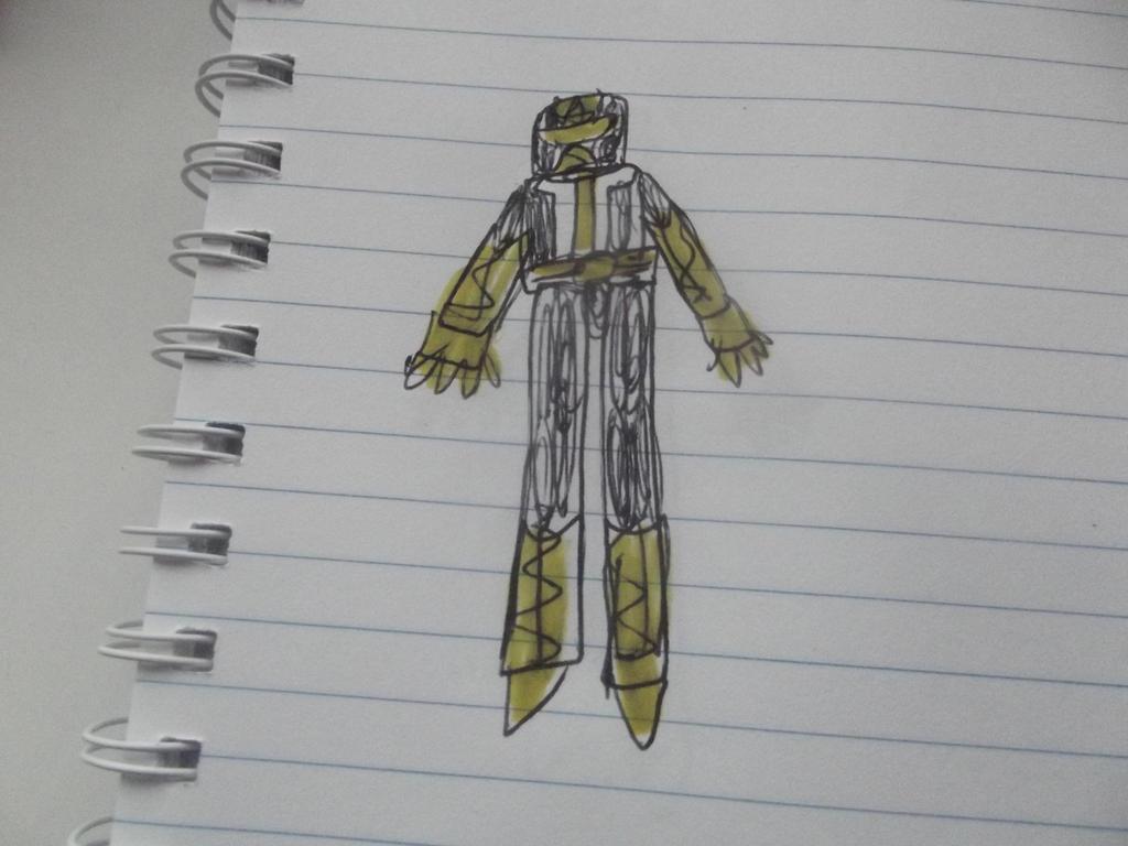Power ranger Metal  galaxy black Ranger by superuk