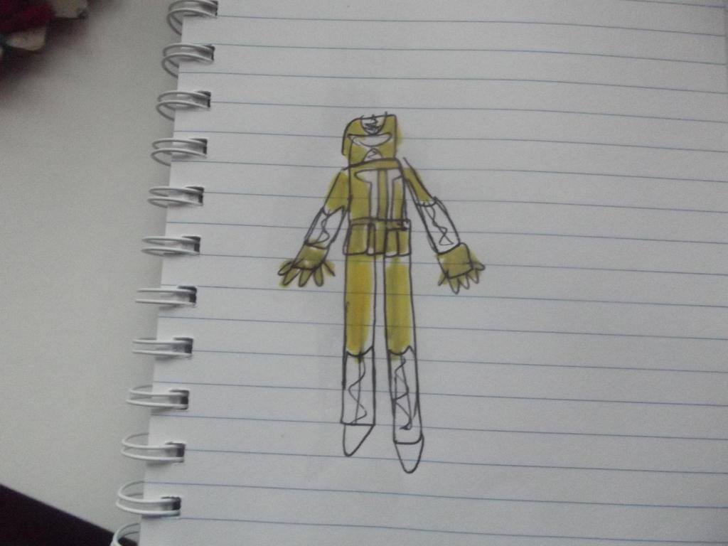 Power rangers metal galaxy yellow Ranger by superuk