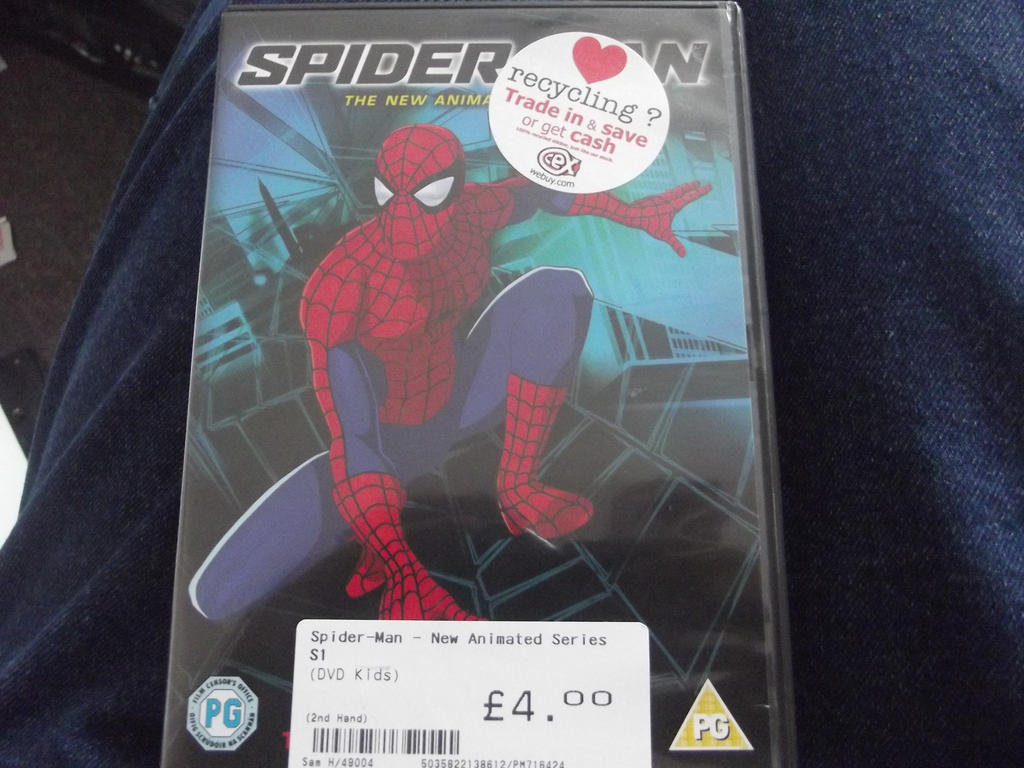 My copy of spider-man the new animated  series by superuk