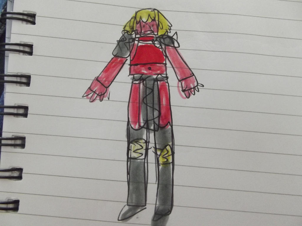 X-men Shatterstar gender bent by superuk