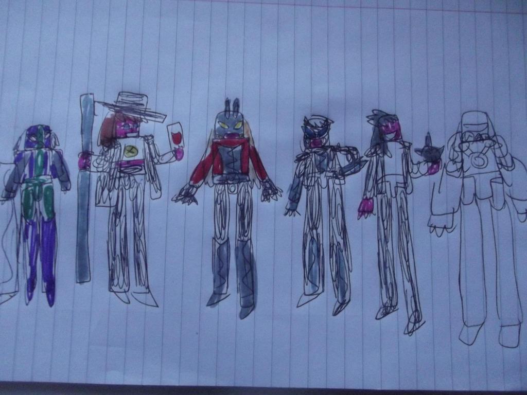 Marvel Gender bent Universe 6161 Force works by superuk