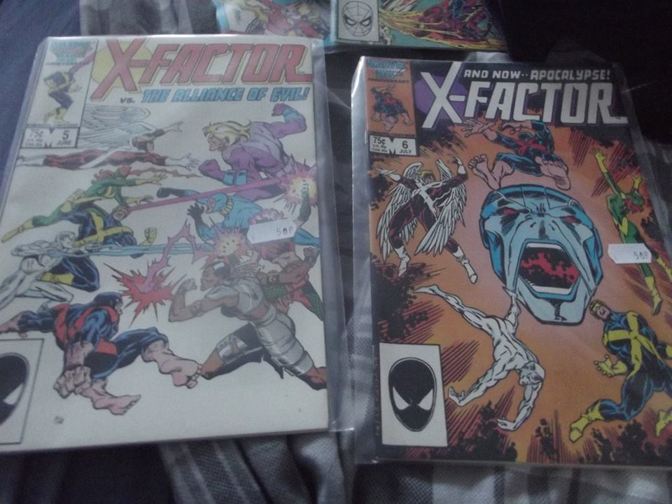 X-factor # 5 and 6 first appearance of Apocalypse by superuk