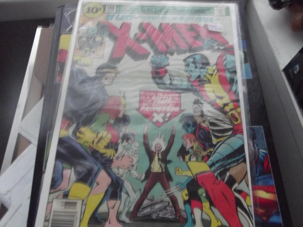 My copy of X-men # 100 1976 by superuk
