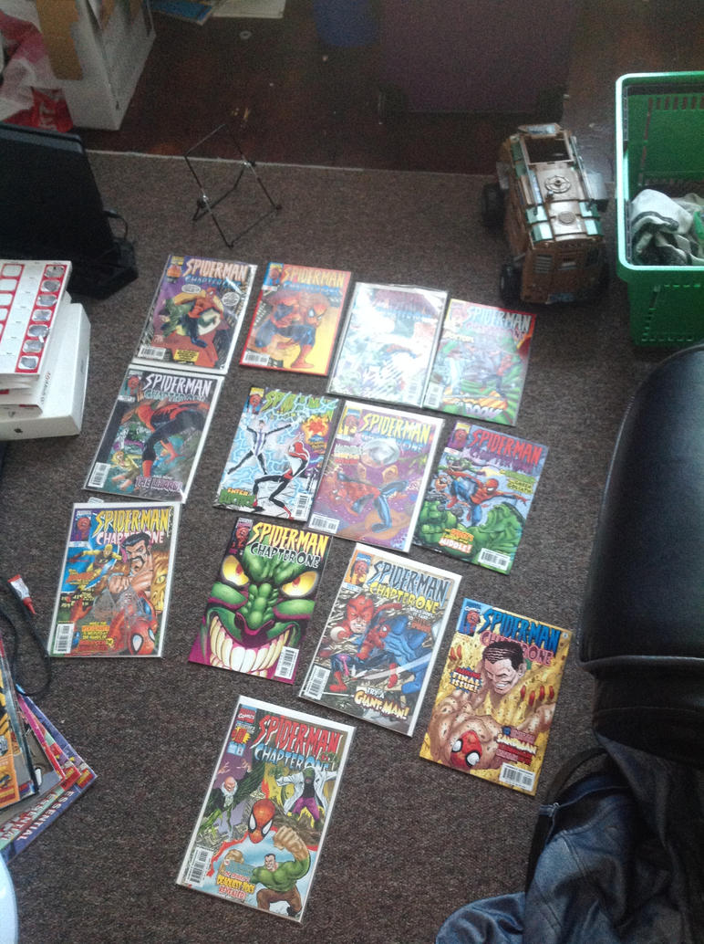 My complete run of Spider-man chapter one by superuk