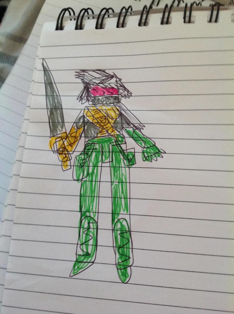 Marvel Shikata genderbent by superuk