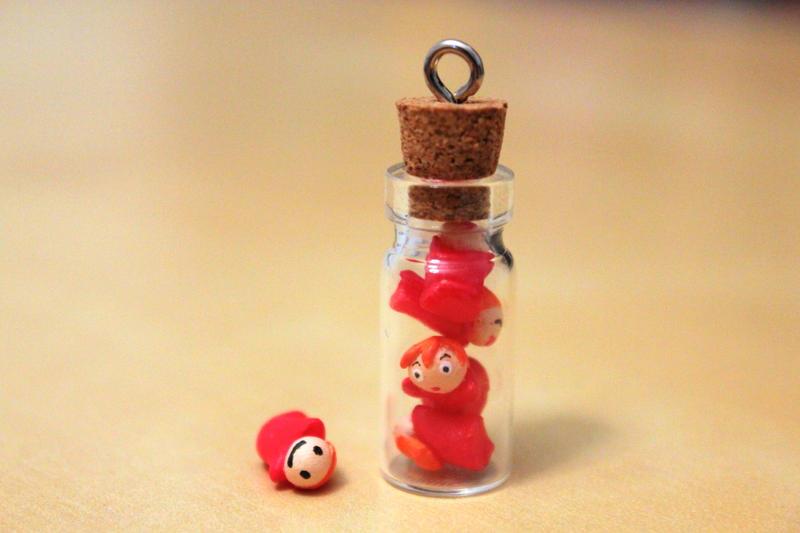 Stuck In A Bottle by lonelysouthpaw