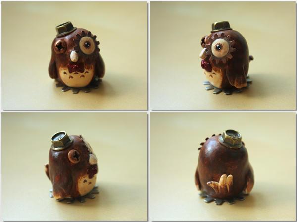 A Clockwork Owl [Body Shot] by lonelysouthpaw