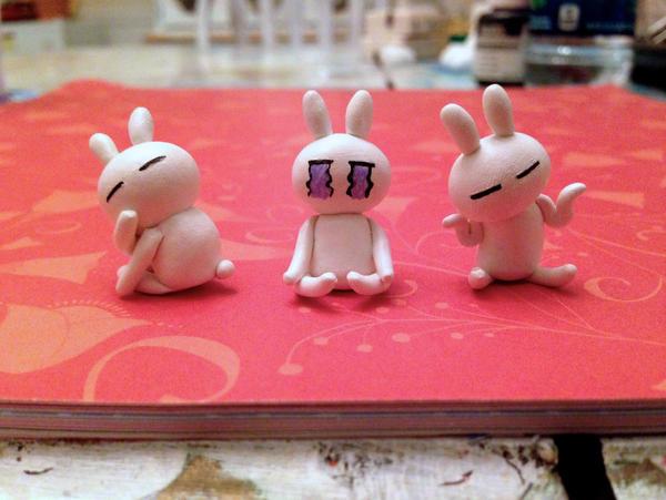 Tuzki Bunnies by lonelysouthpaw