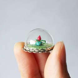 Micro Ivysaur Bubble