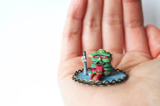 Miniature Japanese Bathhouse
