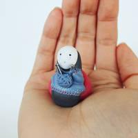 Knitting Kaonashi