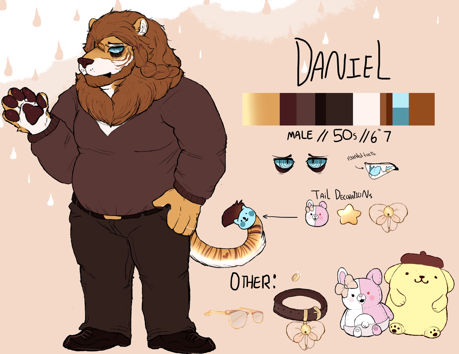 Daniel Ref Sheet 2017 by fogzilla