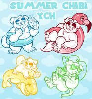 Summer Chibi YCH OPEN by fogzilla