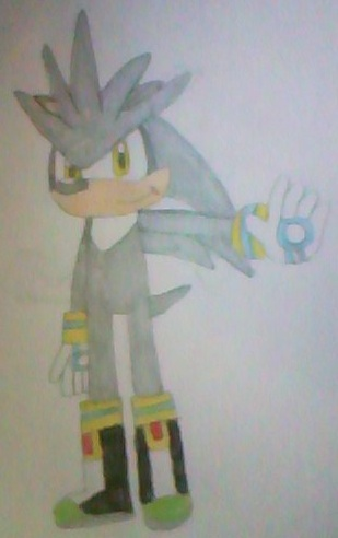 silver the hedgehog by mollyketty on deviantart