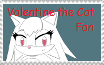 Valentine the Cat Stamp by MollyKetty