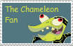 The Chameleon Stamp by MollyKetty