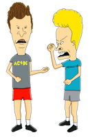 Beavis and Butt-Head by MollyKetty