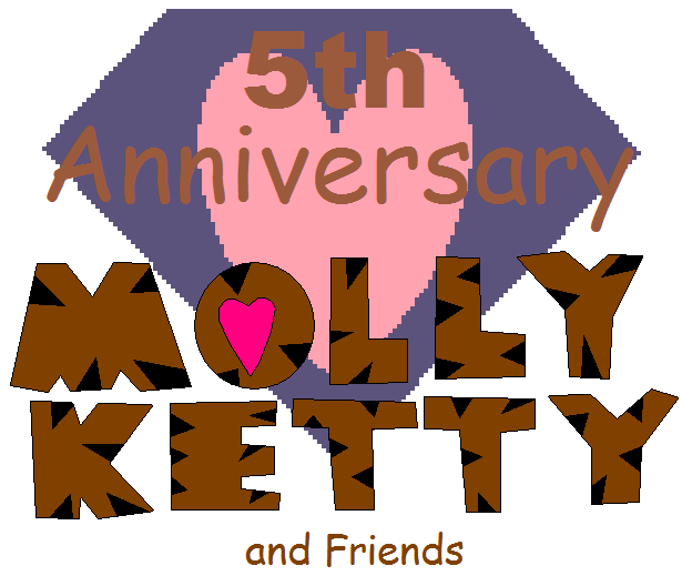 5th Anniversary MKaF Logo by MollyKetty