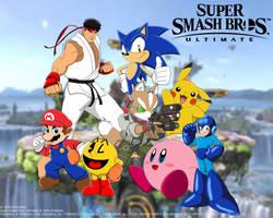Super Smash Bros. Ultimate Custom Wallpaper by MollyKetty