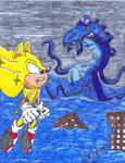 Super Sonic Vs. Perfect Chaos