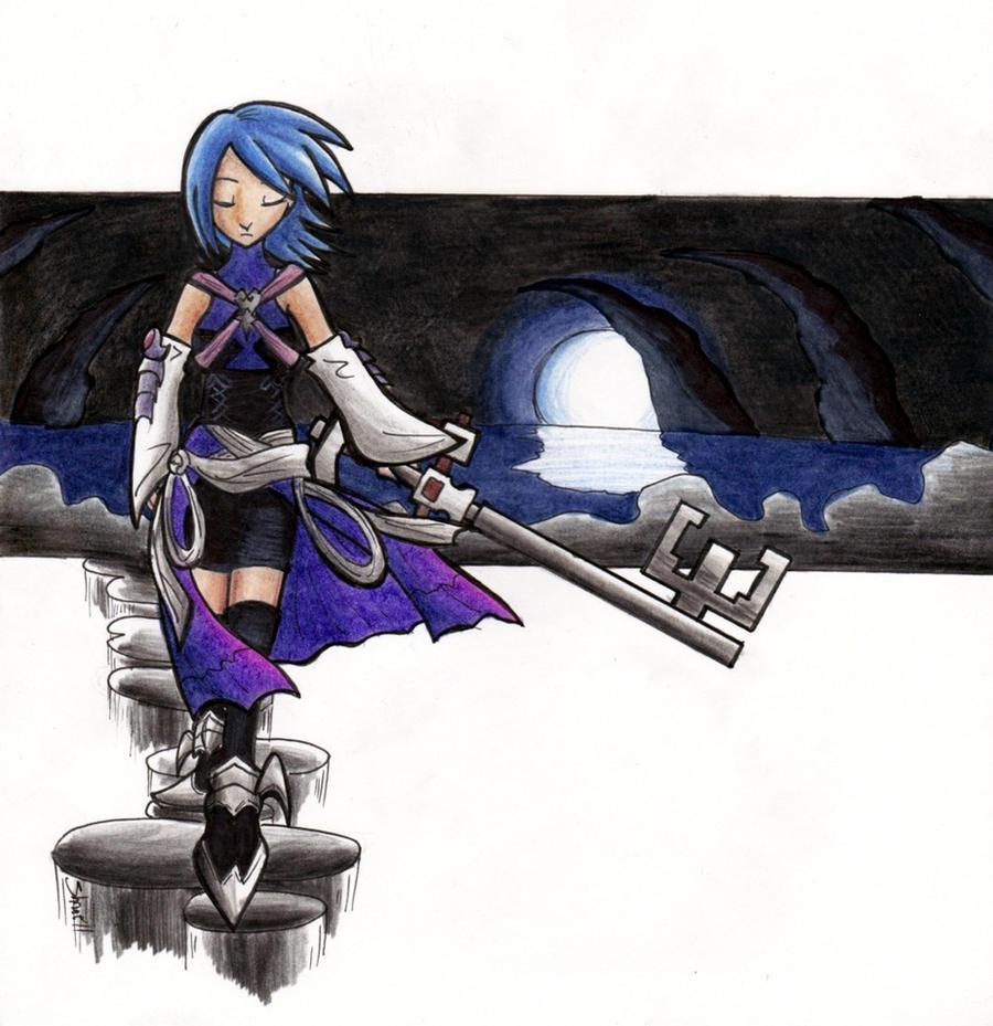 Aqua- The Last Keyblade Master by Sea-Salt