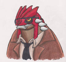 Commissioner Groudon by Sea-Salt