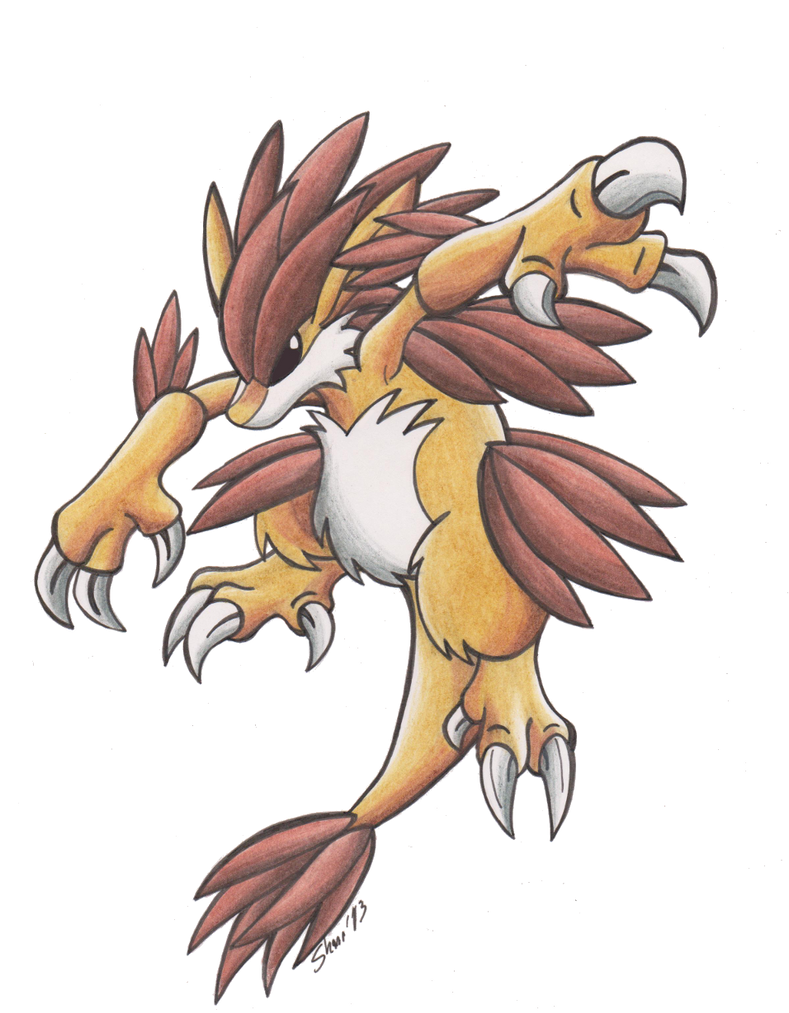 Mega Sandslash by Sea-Salt