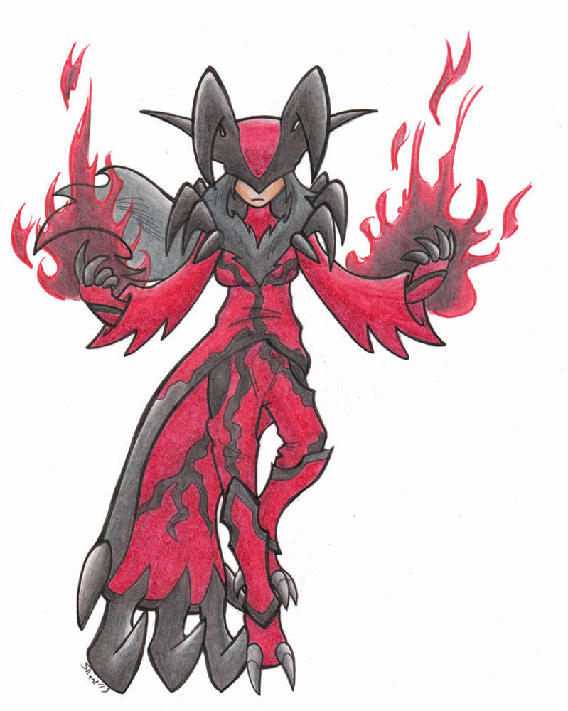Yveltal Armor by Sea-Salt