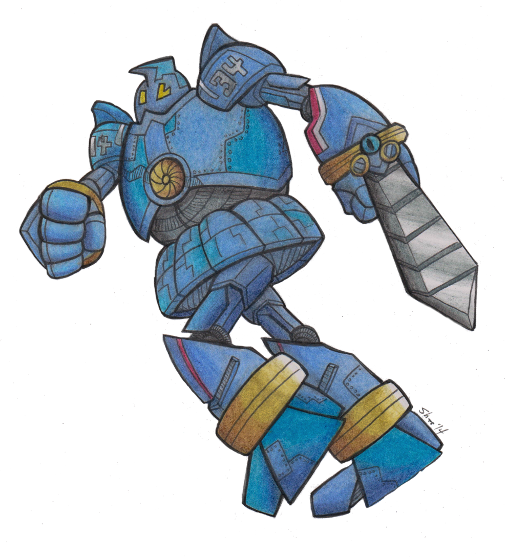 Pokaiju- Gipsy Danger by Sea-Salt