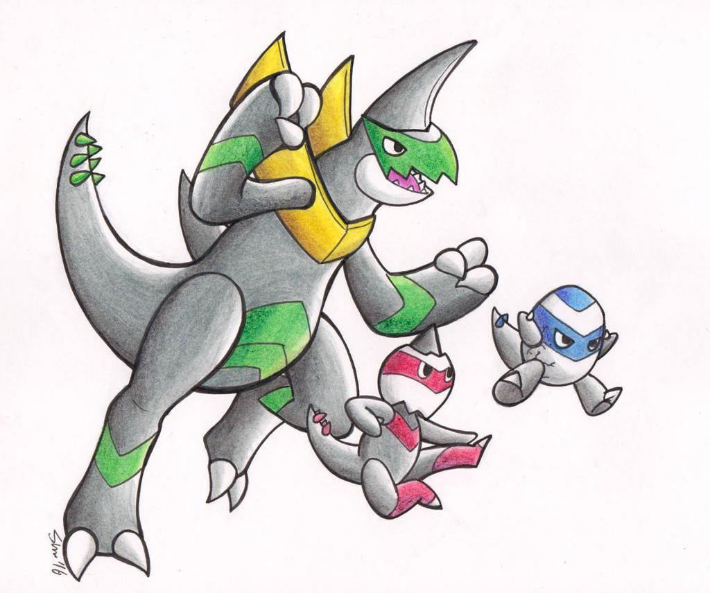 Go Go, Fighting Dragons! by Sea-Salt