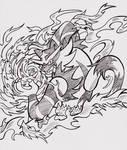 Inktober 2016 - Burn [of the Tiger] by Sea-Salt