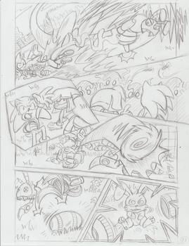 Sonic Legacy pencils - 1-13