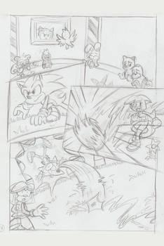 Sonic Legacy pencils - 1-16