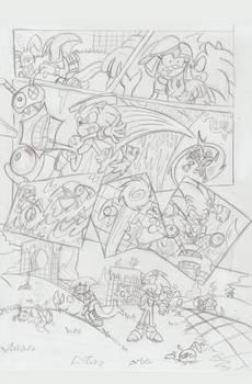 Sonic Legacy pencils - 1-14