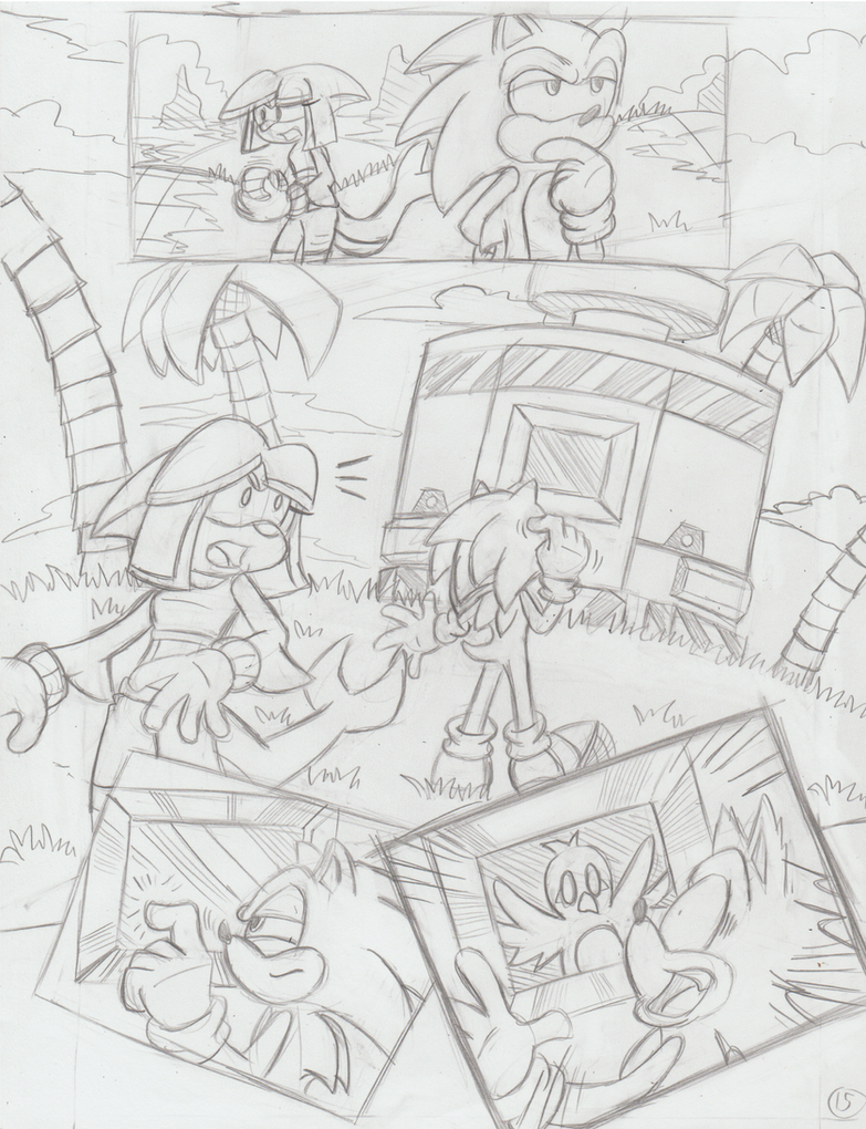 Sonic Legacy pencils - 1-15 by Sea-Salt
