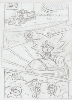 Sonic Legacy pencils - 1-17