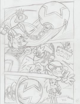 Sonic Legacy pencils - 1-19