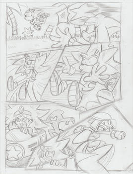 Sonic Legacy pencils - 1-20