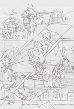 Sonic Legacy pencils - 1-22