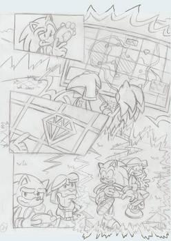 Sonic Legacy pencils - 1-24
