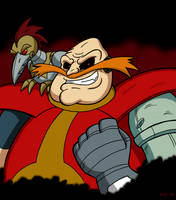 Robotnik (Happy 25th, SatAM!) by Sea-Salt
