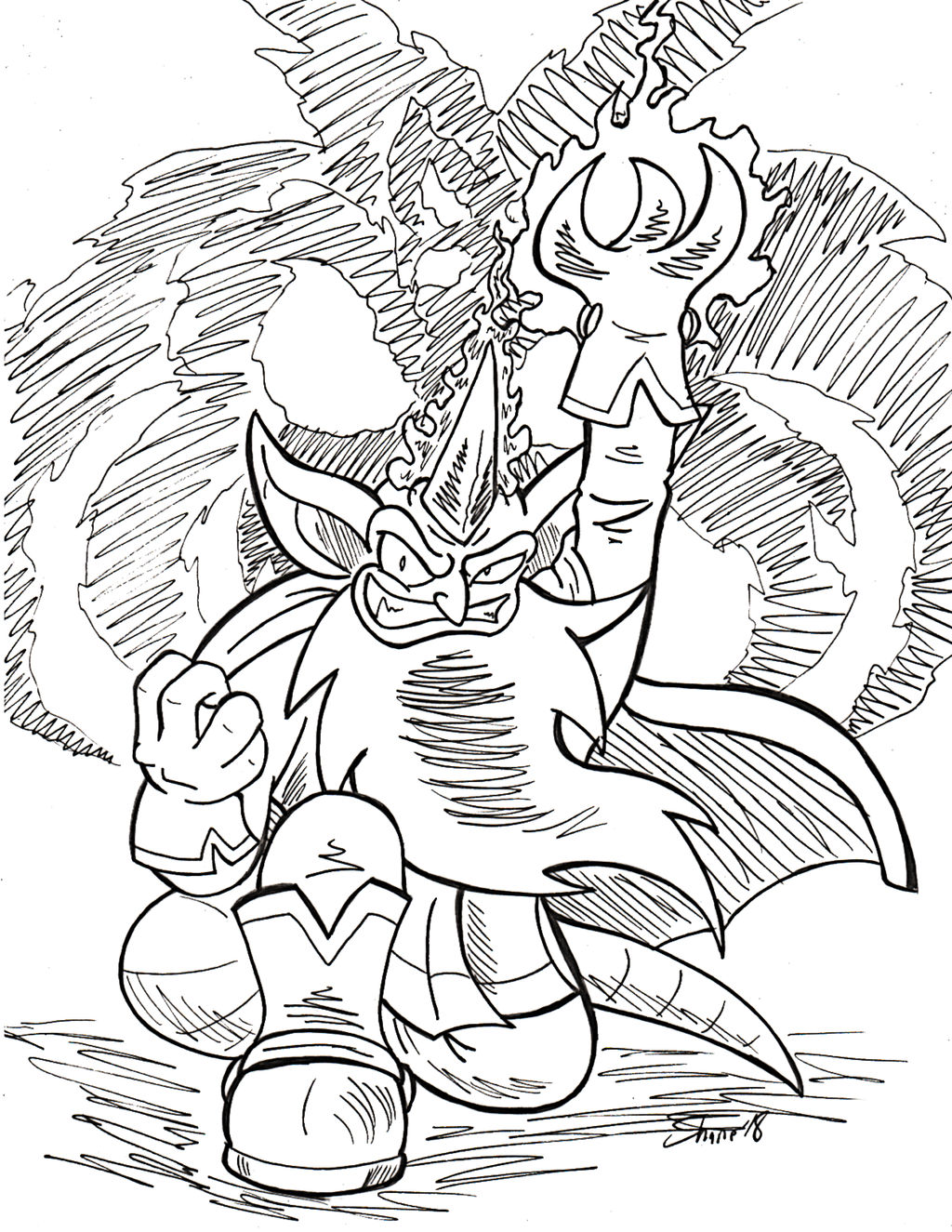 Sonictober - 08 - Mystic by Sea-Salt