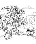 Sonictober - 12 - Knight by Sea-Salt