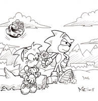 Sonictober - 18 - Friendship by Sea-Salt