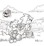 Sonictober - 18 - Friendship