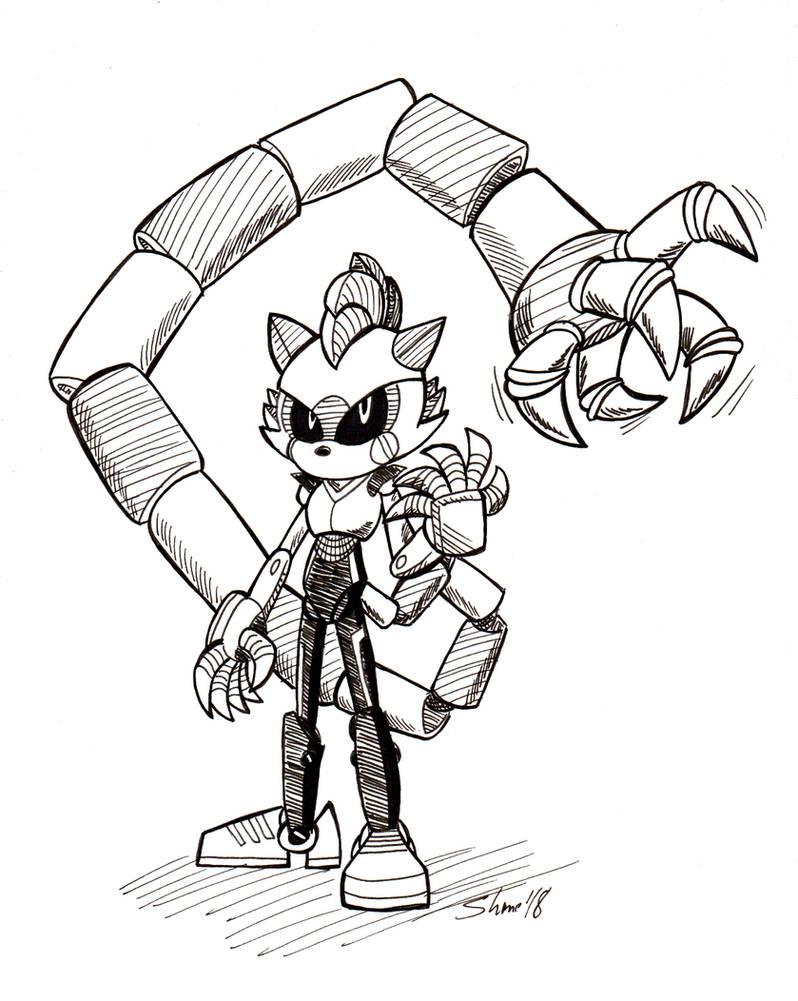 Sonictober - 22 - Robot by Sea-Salt